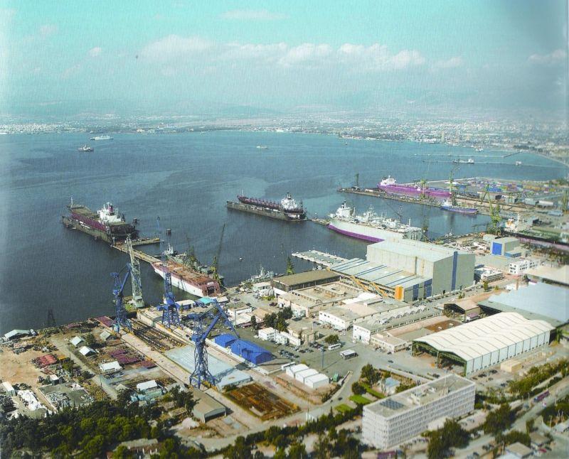 Χαϊδάρι Σήμερα Το  λιμάνι  στον Σκαραμαγκά από νέα οπτική γωνία 1