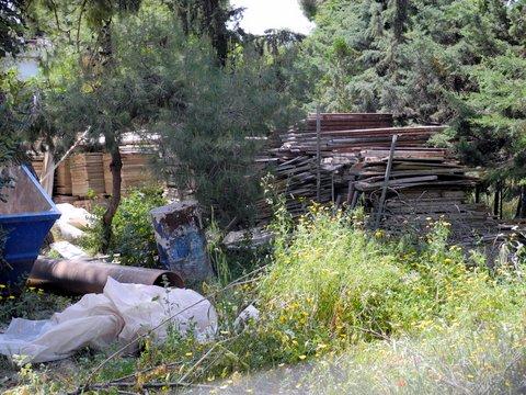 Χαϊδάρι Σήμερα Αρεοπόλεως και Καλαβρύτων: η διασταύρωση καρμανιόλα 3