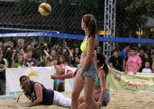 beach volley στο Χαϊδάρι