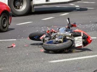 τροχαίο ατύχημα με μηχανάκι