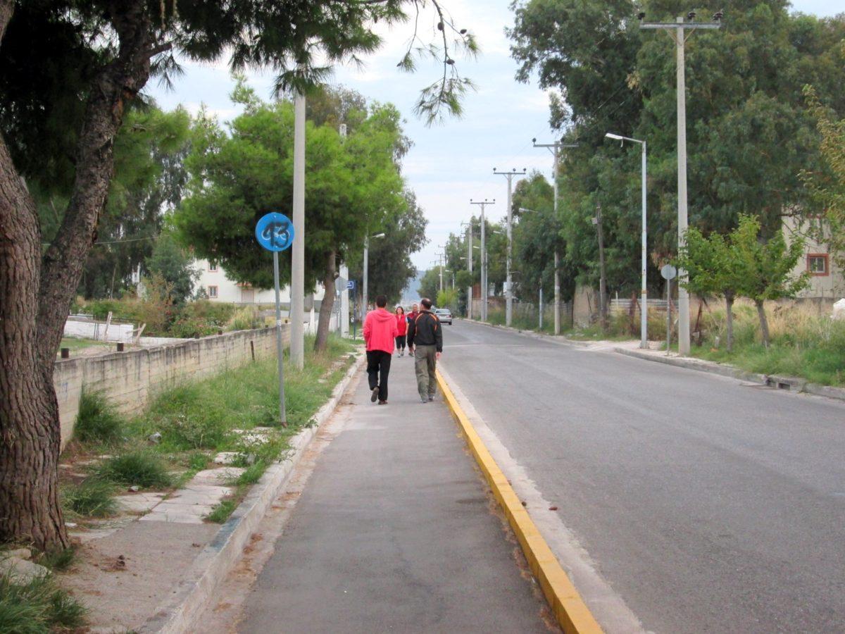 Χαϊδάρι Σήμερα Μήπως ήρθε η ώρα για πεζόδρομο - ποδηλατόδρομο μέχρι τον Σταθμό