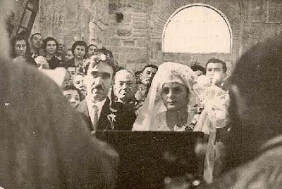 Χαϊδάρι Σήμερα Το BBC περιγράφει τον γάμο του Σίμωνα Καρά στο Δαφνί, δεύτερη ημέρα των Χριστουγέννων, 1950
