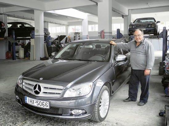 Χαϊδάρι Σήμερα Νίκος Γιαννιός: πέντε δεκαετίες ζει την ιστορία της Mercedes στην Ελλάδα 5