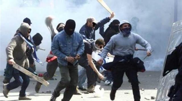 Χαϊδάρι Σήμερα Ρόπαλα - κουκούλες - μίσος - ξύλο - αίμα. Περιστατικά τυφλής χουλιγκανικής βίας στο Χαϊδάρι