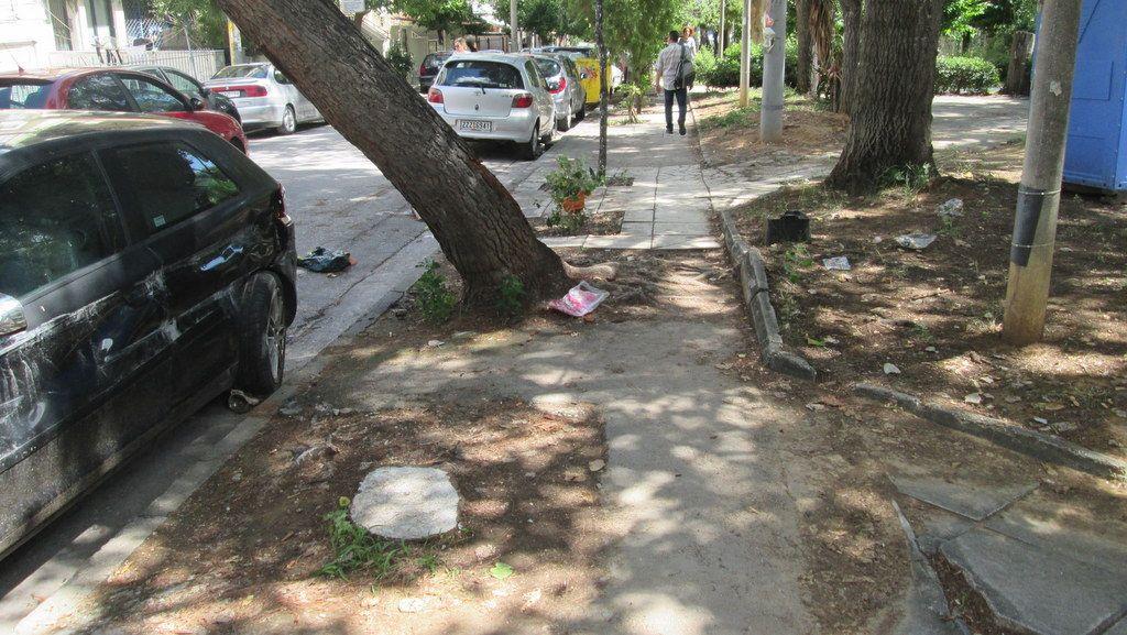 Χαϊδάρι Σήμερα Γιατί έκλεισε η 1η είσοδος - έξοδος του Δάσους στη Λ. Αθηνών 3