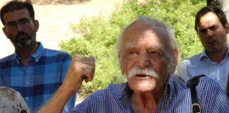 Χαϊδάρι Σήμερα Μάθημα Ελλάδας και εθνικής ενότητας από τον Μανώλη Γλέζο σήμερα στο Χαϊδάρι 10