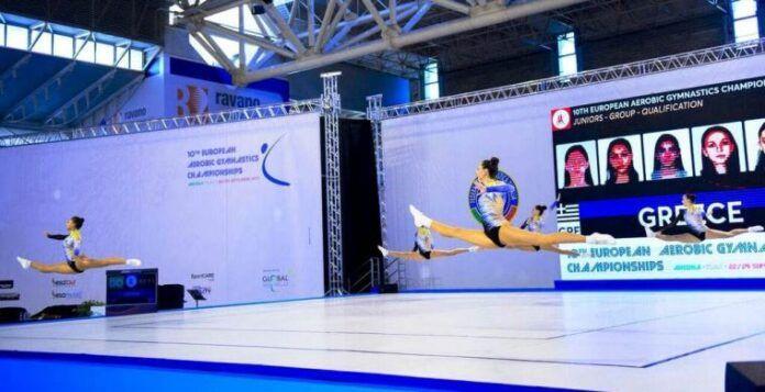 Χαϊδάρι Σήμερα Στην 6η θέση της Ευρώπης οι νεάνιδες της Εθνικής Αεροβικής Γυμναστικής 19