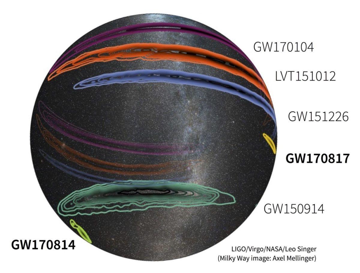 Χαϊδάρι Σήμερα Ένας κοσμικός Μίδας: Βαρύτητα και φως από ένα χρυσό βαλς αστέρων νετρονίων 1