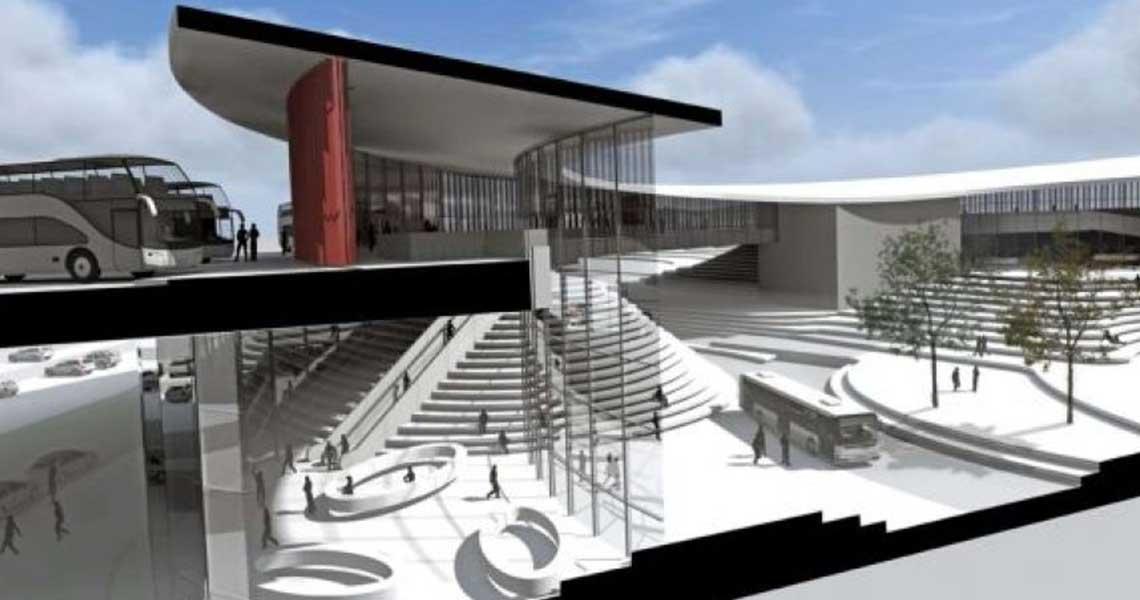 Χαϊδάρι Σήμερα Ο νέος σταθμός των ΚΤΕΛ στον Ελαιώνα 2