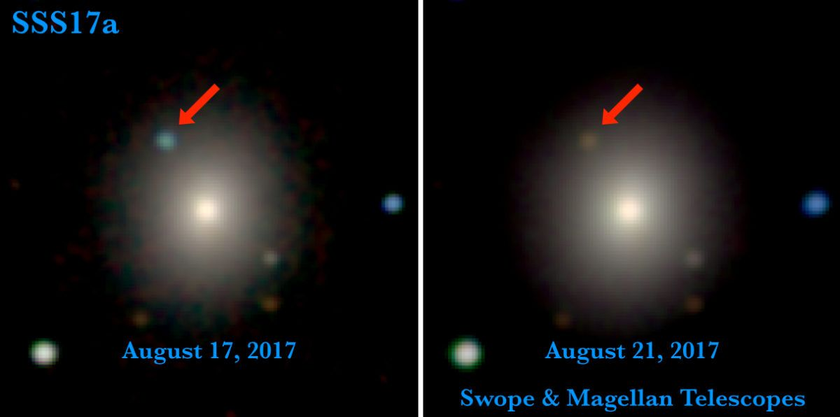 Χαϊδάρι Σήμερα Ένας κοσμικός Μίδας: Βαρύτητα και φως από ένα χρυσό βαλς αστέρων νετρονίων 2