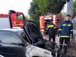 Χαϊδάρι Σήμερα Φωτιά σε ΙΧ αυτοκίνητο στο Χαϊδάρι 1