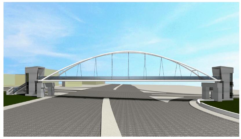 Χαϊδάρι Σήμερα Νέες πεζογέφυρες στη Λεωφόρο Αθηνών - Παρουσίαση, μακέτες, λειτουργικότητα 6