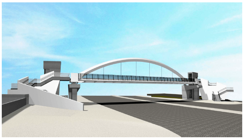 Χαϊδάρι Σήμερα Νέες πεζογέφυρες στη Λεωφόρο Αθηνών - Παρουσίαση, μακέτες, λειτουργικότητα 7