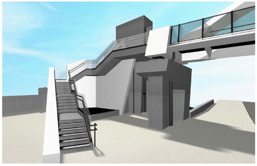 Χαϊδάρι Σήμερα Νέες πεζογέφυρες στη Λεωφόρο Αθηνών - Παρουσίαση, μακέτες, λειτουργικότητα 8